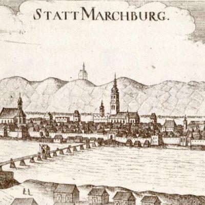 Maribor with the castle on Piramida hill
